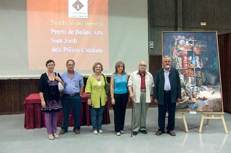 Exposición itinerante de los premios Sant Jordi