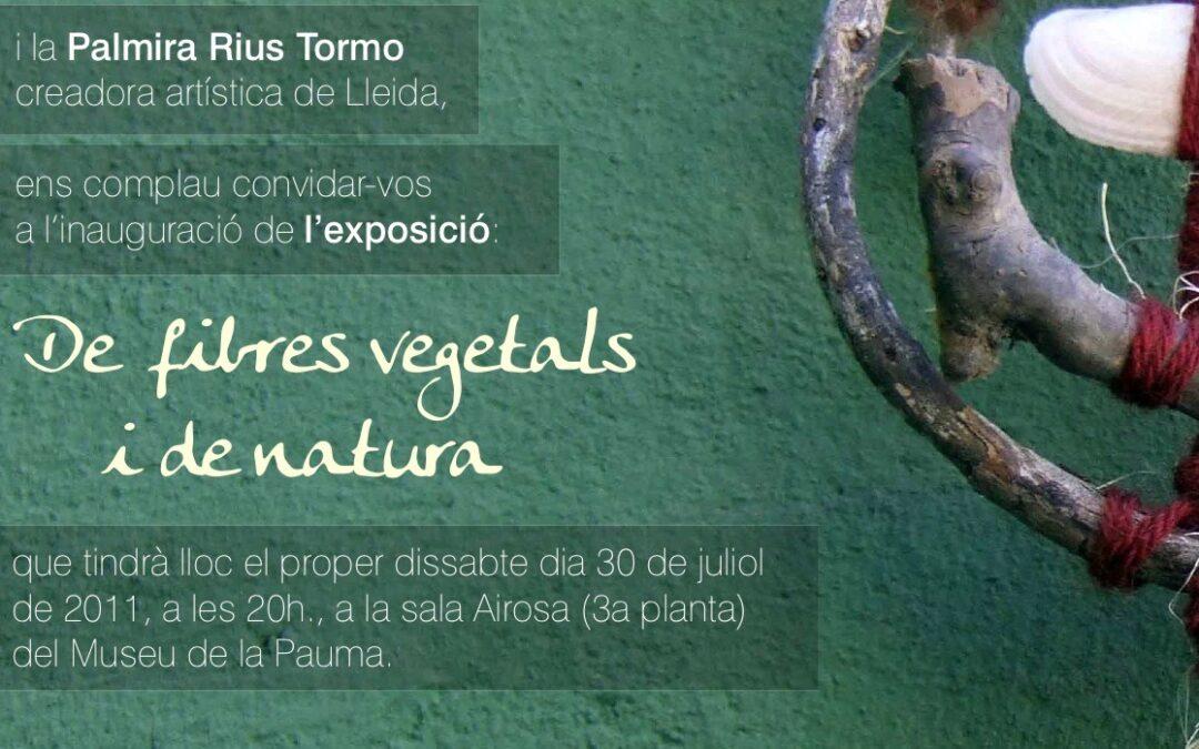 Exposición al Museu de la Pauma (Mas de Barberans)