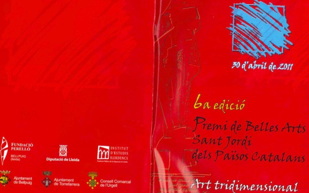 Arte tridimensional. 6ª edición Premio de Bellas Artes Sant Jordi