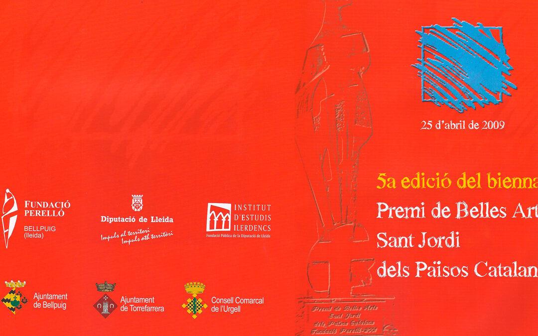 Premio de Bellas Artes Sant Jordi. Diputación de Lleida