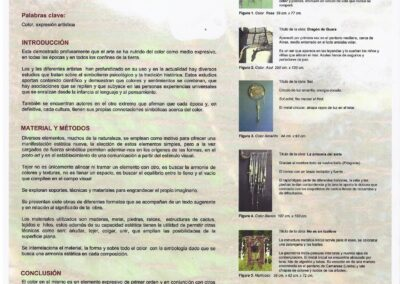 """Comunicación """"Color Tejido"""" al IX Congreso Nacional del Color"""