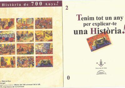 700º aniversario Universitat de Lleida
