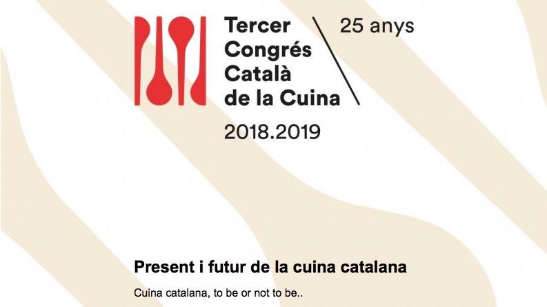 Participación en la Segunda Jornada del III Congreso Catalán de la Cocina