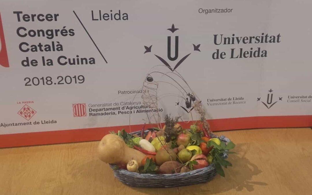 Participación en la Primera Jornada del III Congreso Catalán de la Cocina