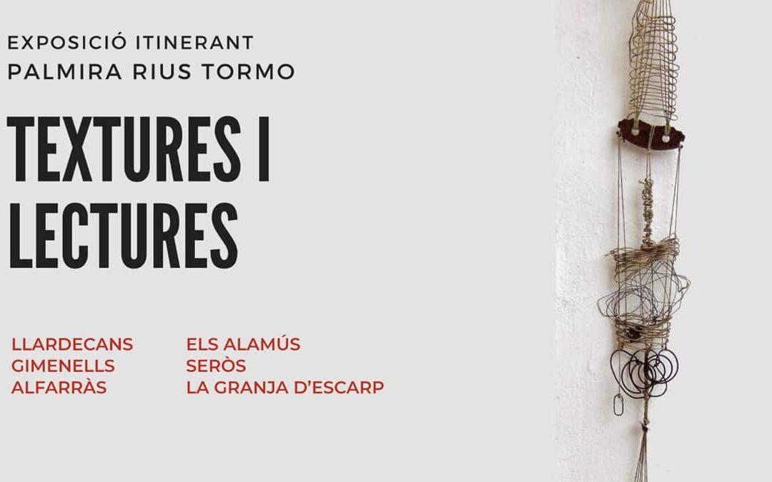Exposición itinerante Texturas y lecturas por los municipios del Segrià