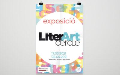 Exposición de artistas del cercle de bellas artes a la biblioteca pública