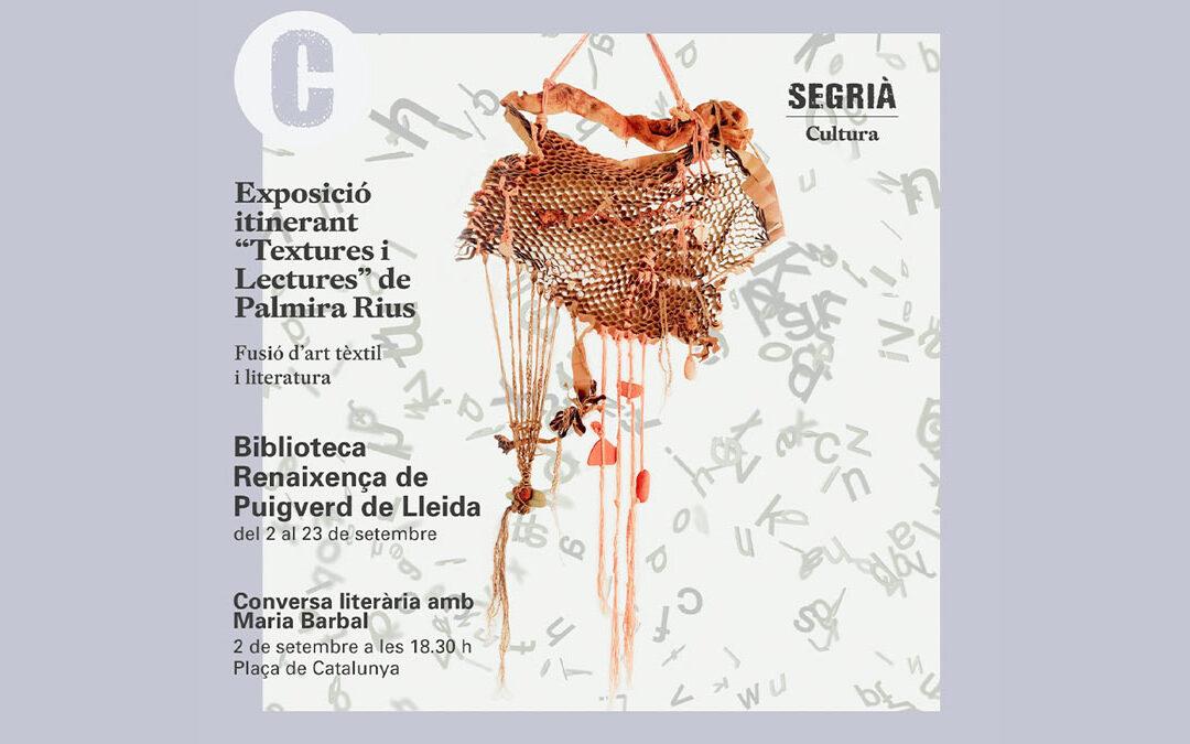 Texturas y Lecturas en las bibliotecas del Segrià – Puigverd de Lleida